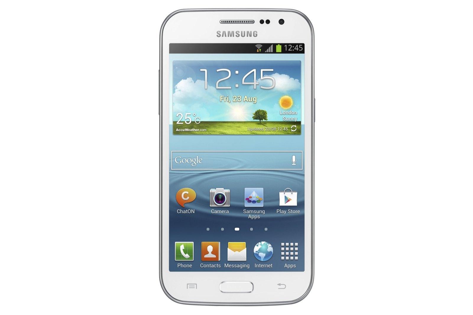 Samsung Galaxy Win, imágenes oficiales