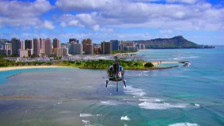 La ruta de la serie Hawaii 5.0