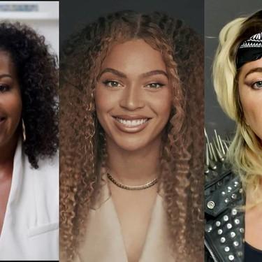 Michelle Obama une a artistas de todos los sectores como Beyoncé o Lady Gaga, para dar poderosos mensajes a todos los graduados