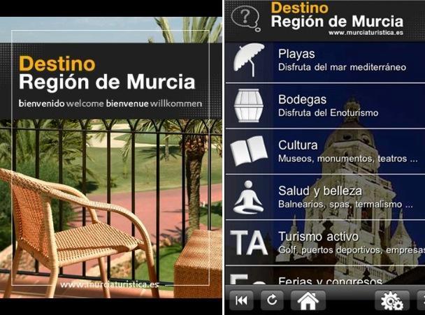 Aplicación Destino Región de Murcia