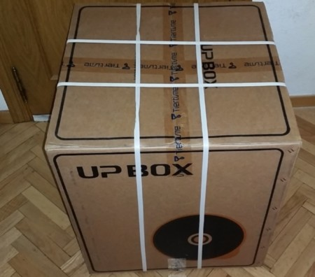 caja de la impresora 3d UP BOX