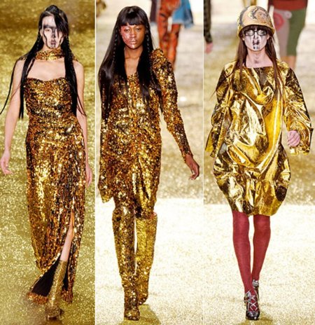 Vivienne Westwood dorado