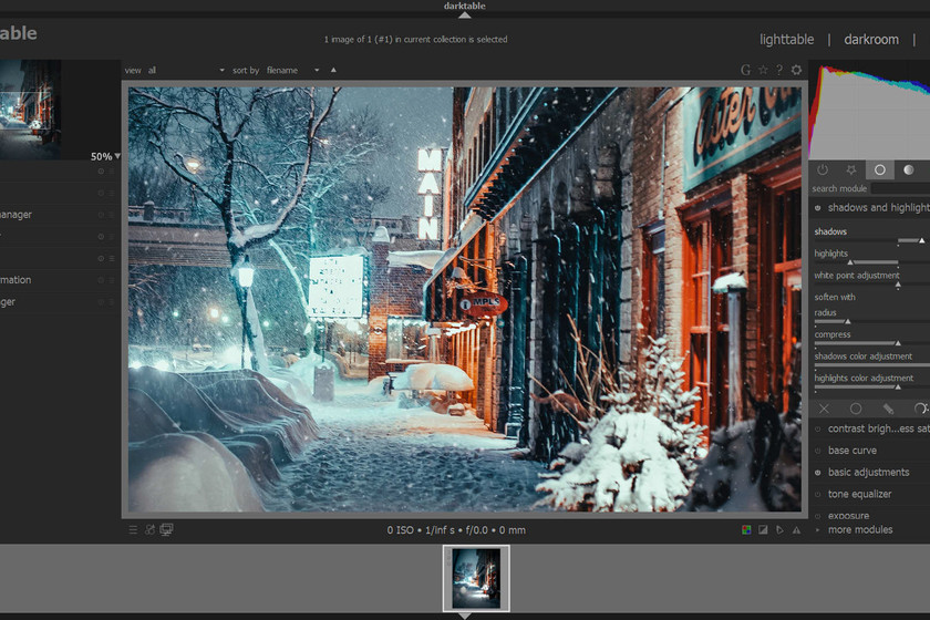 Llega la primera RC de Darktable 3.0, un programa open source de ...