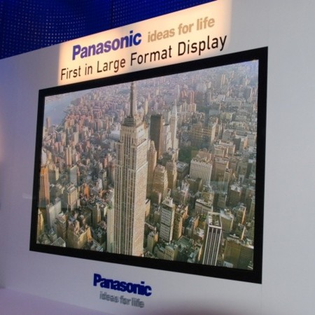 Plasma de 150 pulgadas de Panasonic presentado