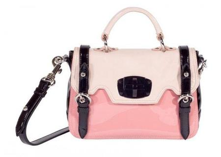 Bolso maletín de Miu Miu en color rosa para la ejecutiva chic