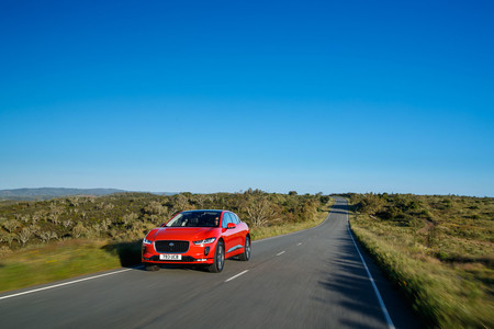 Jaguar I-PACE frontal