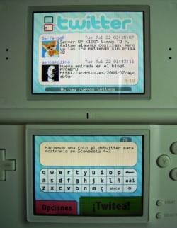 DSTwitter: cliente español para Twitter en tu Nintendo DS