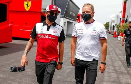 Bottas Raikkonen F1 2021