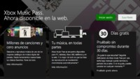 Microsoft lanza la versión web de Xbox Music
