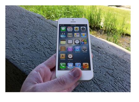 Más detalles del tamaño de la pantalla del iPhone 5