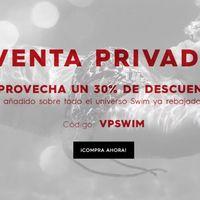 Venta privada en Quiksilver y Roxy con un 30% de descuento extra en sus secciones Swin