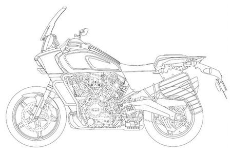 Harley Davidson Patent 8