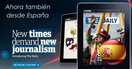 La prensa digital en la nube: cómo probar The Daily desde España
