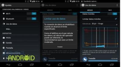 ¿Cómo limitar en Android el uso de datos?