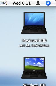 Truco: Cambia el icono de un disco NTFS con Leopard