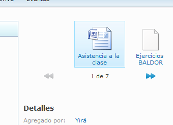 Exploracion de archivos en SkyDrive