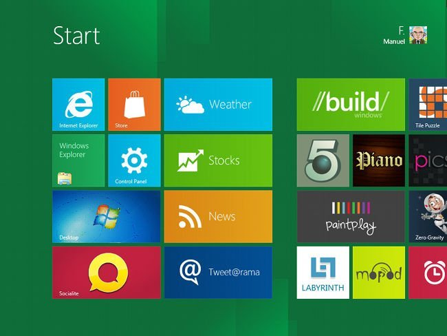 aplicaciones metro windows 8
