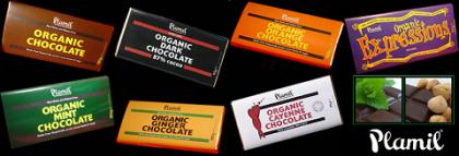 Chocolate orgánico Plamil, sabores saludablemente tentadores