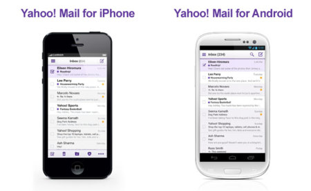 Nuevo Yahoo! Mail, iPhone y Android