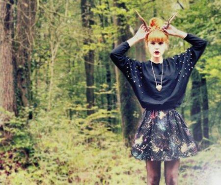 Consejos de belleza: una boda, mariposas y uñas retro