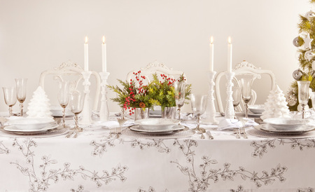 Cómo decorar la mesa de Navidad