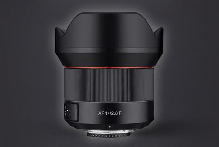 Samyang AF 14 mm ƒ2.8 F, primera óptica de esta firma con enfoque automático para cámaras Nikon de sensor full frame