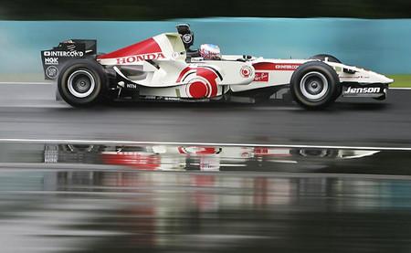 Jenson Button 2006 Hungaroring