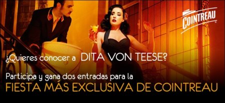 ¿Te gustaría conocer a Dita Von Teese en persona en una fiesta exclusiva?