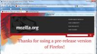 Firefox listo para soportar las transparencias de Aero