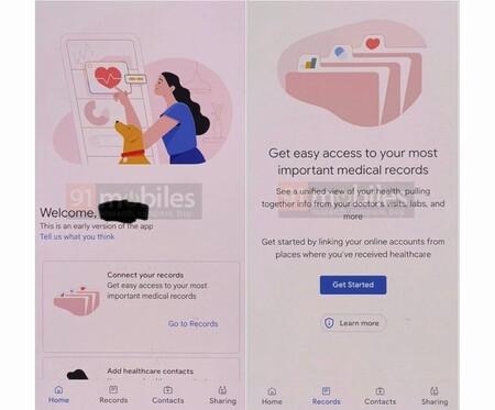 La app de salud de Google filtrada