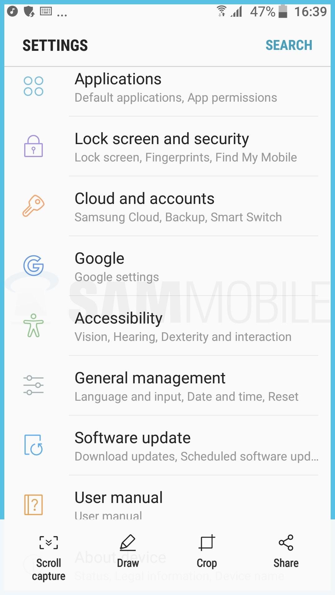Foto de Capturas Android 7.0 Nougat en el Samsung Galaxy S7 (21/65)