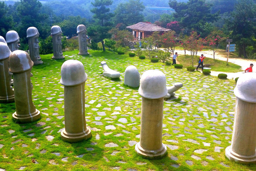 Haesindang Park, el parque de los penes de Corea del Sur que rivaliza en espectadores con los JJOO