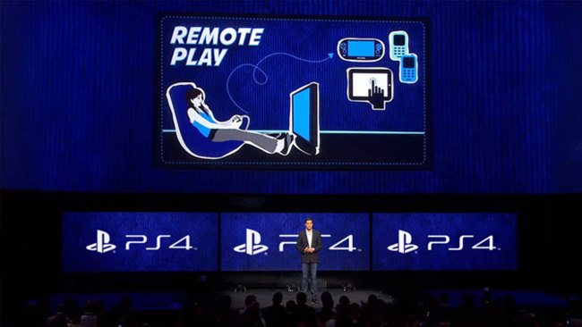 PlayStation 4 + iOS