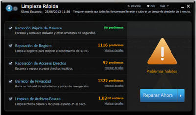 Advanced SystemCare con Antivirus 2013, protección y optimización del sistema