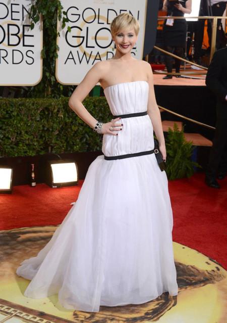 Dior Jennifer Lawrence Globos de Oro 2014