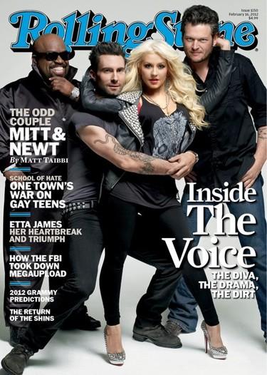 Quién fuese Christina Aguilera en la portada de Rolling Stone