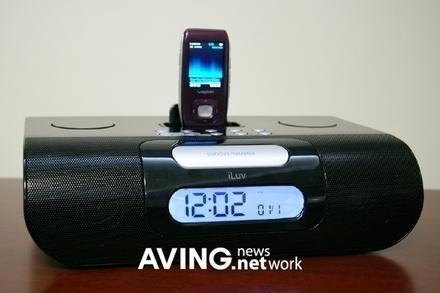 iLuv iss277, radio despertador para el Samsung YP-T9