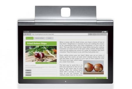 Lenovo Yoga Tablet 2 Pro, una nueva tablet Android con pantalla de 13 pulgadas y pico proyector