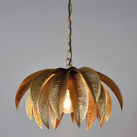 Lámpara tropical