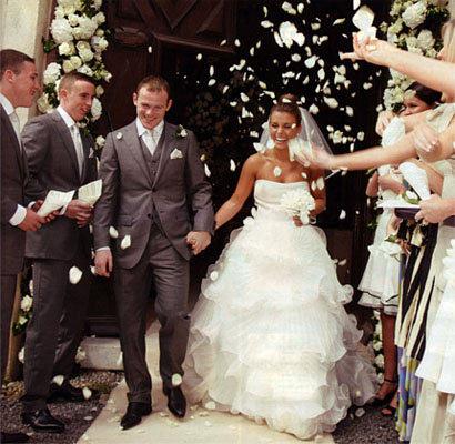 El vestido de novia de Coleen McLoughlin