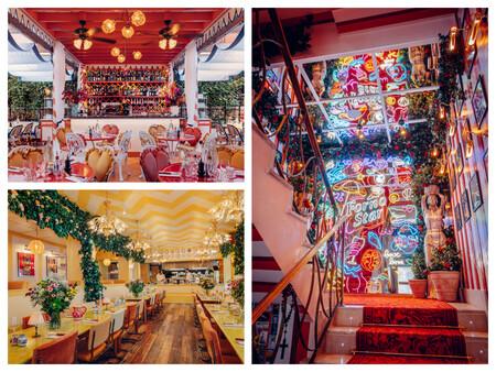 De Izquierda A Derecha Y De Arriba A Abajo Terraza Y Salon Principal Escalera De Acceso Con Neones C Jerome Galland