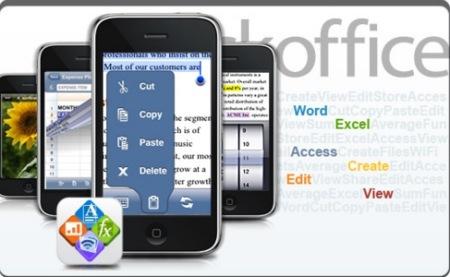 Quickoffice, una suite ofimática en el iPhone