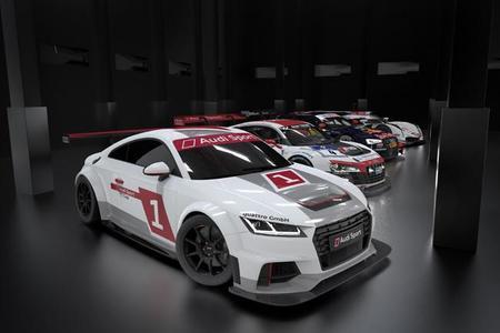 Audi presenta la nueva TT Cup, telonera del DTM a partir de 2015
