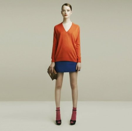 Zara color block