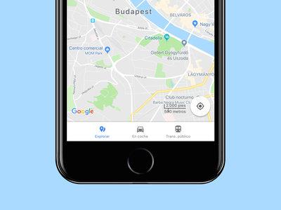 Google Maps para iPhone se actualiza, ahora es más sencillo elegir para qué vas a utilizar la app