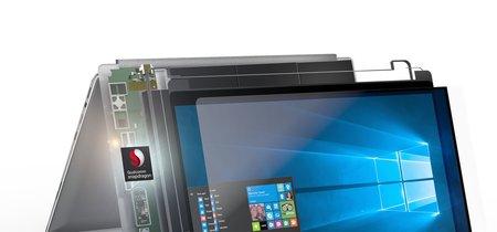 Qualcomm y Microsoft lanzan los primeros portátiles Windows con ARM: prometen hasta 24 horas de autonomía