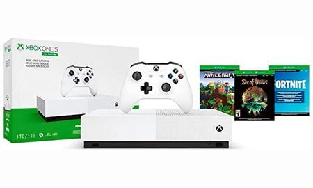 En las Microsoft Hours de MediaMarkt tienes la Xbox One S 1TB All Digital con 3 juegos por sólo 179 euros