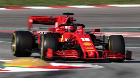 Leclerc Barcelona F1 2020
