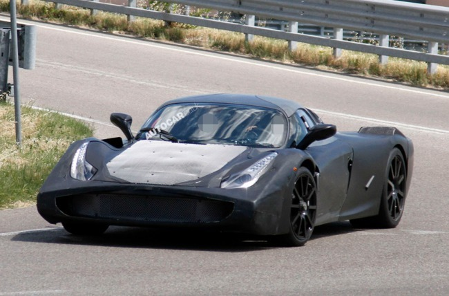 Foto Espía posible nuevo Ferrari Enzo según Autocar