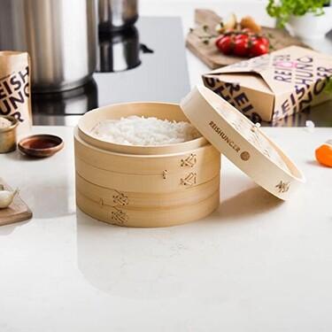 Los cestos de bambú nos ayudan a cocinar de forma más saludable: estos son los más valorados de Amazon
